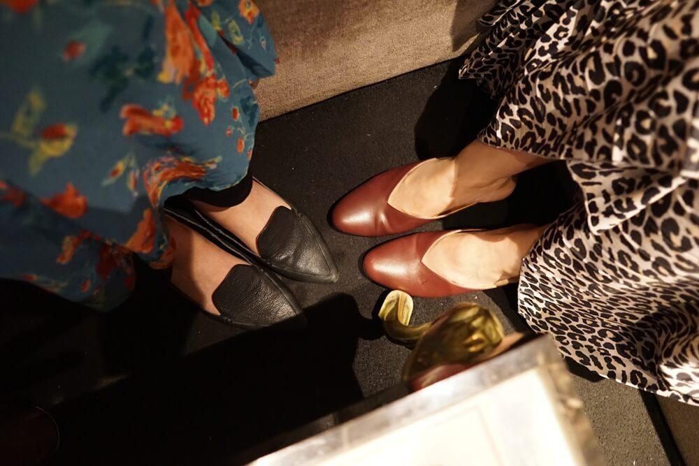 ダイアナの靴とGUの靴