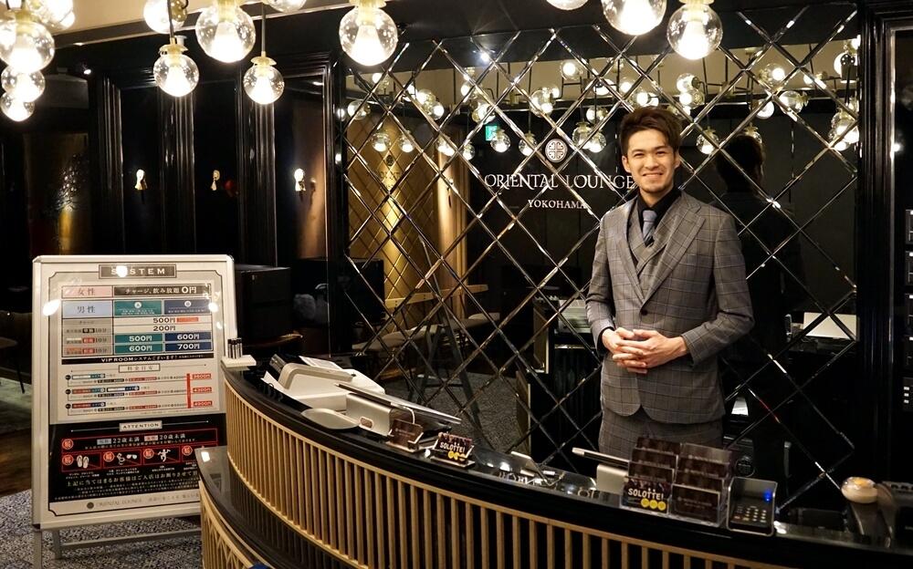 横浜店に入ると副店長のせがわさんが迎えてくれました