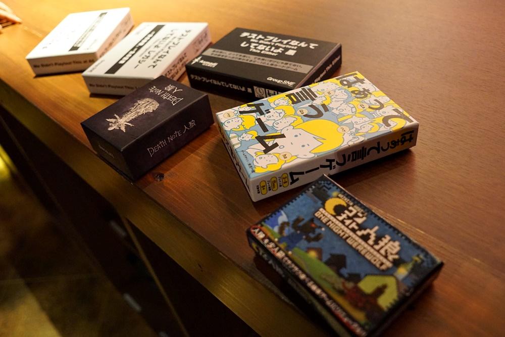 大宮店はゲームも充実しています。これはほんの一部です。