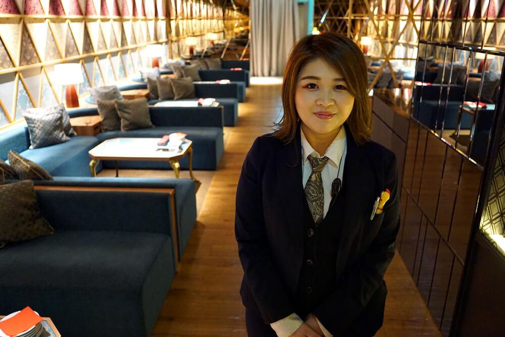 町田店の駿河さん。安定感があります。