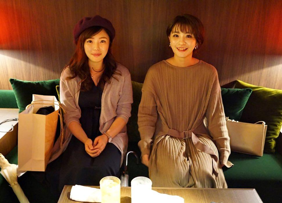 アイナさんとユキさん