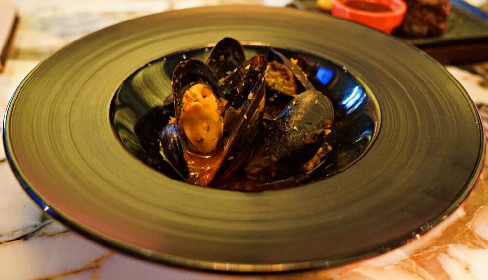 ムール貝のチリソース